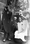 Familie Karl Marwell sen., mit Karoline Marwell geb. Lange und Kindern.