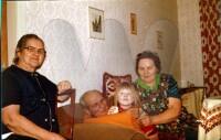 Luise Jacke, Heinrich Marwell, Margarethe Rettschlag, Kerstin