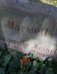 Grabstein Heinrich u. Margarethe Marwell